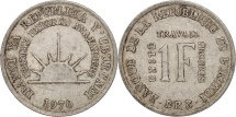 World Coins - Burundi, Franc, 1970, EF(40-45), Aluminum, KM:18