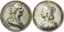 World Coins - France, Medal, Louis XVI et Marie-Antoinette, 1774, Duvivier, VF(30-35), Silver