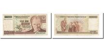 Turkey, 100,000 Lira, 1991, KM:205, AU(55-58)