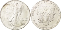 Us Coins - United States, Dollar, 1992, Philadelphia, MS(64), Silver, KM:273