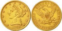 Us Coins - Coin, United States, Coronet Head, $5, Half Eagle, 1899, U.S. Mint