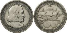 Us Coins - United States, Half Dollar, 1892, U.S. Mint, Philadelphia, AU(50-53), KM 117