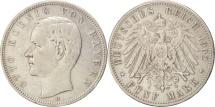 World Coins - German States, BAVARIA, Otto, 5 Mark, 1902, Munich, EF(40-45), Silver, KM:915