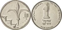 Israel, Sheqel, 1982, AU(55-58), Copper-nickel, KM:111