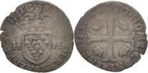 World Coins - France, Douzain with 2H, Paris, F(12-15), Billon, Duplessy:1140