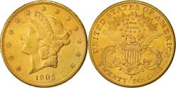 Us Coins - Coin, United States, Liberty Head, $20, Double Eagle, 1905, U.S. Mint, San