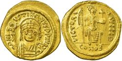 Coin, Justin II, Solidus, 565-578 AD, Constantinople, , Gold, Sear:345