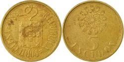 World Coins - Coin, Portugal, 5 Escudos, 1988, , Nickel-brass, KM:632