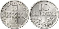 World Coins - Coin, Portugal, 10 Centavos, 1976, , Aluminum, KM:594