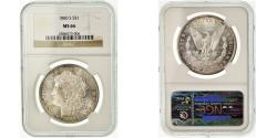 Us Coins - Coin, United States, Morgan Dollar, Dollar, 1880, San Francisco, NGC, MS66