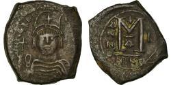 Ancient Coins - Coin, Heraclius, Follis, 610-611, Nicomedia, , Copper, Sear:833