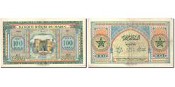 World Coins - Banknote, Morocco, 100 Francs, 1943, 1943-08-01, KM:27A, AU(50-53)