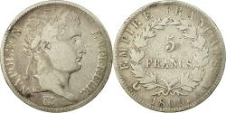 Ancient Coins - Coin, France, Napoléon I, 5 Francs, 1809, Paris, , Silver, KM:694.1