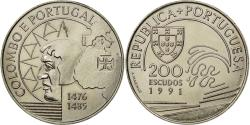 World Coins - Coin, Portugal, 200 Escudos, 1991, , Copper-nickel, KM:658