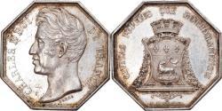 World Coins - France, Token, Royal, Charles X, History, 1825, Barre, , Silver