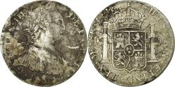World Coins - Coin, Peru, 8 Reales, 1801, Lima, , Silver, KM:97