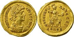 Ancient Coins - Coin, Valentinian II, Solidus, 388-392, Constantinople, , Gold, RIC:69b