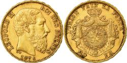 Ancient Coins - Coin, Belgium, Leopold II, 20 Francs, 20 Frank, 1876, , Gold, KM:37