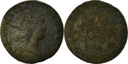 World Coins - Coin, France, Louis XV, Sol au buste enfantin, 1719, Reims,