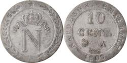 World Coins - Coin, France, Napoleon I, 10 Centimes, 1809, Paris, , Billon