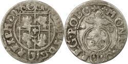 World Coins - Coin, Poland, Sigismund III, 3 Polker, 3 Poltorak - 1 Kruzierz, 1623,