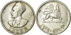 World Coins - Coin, Ethiopia, Haile Selassie I, 50 Cents, Hamsa Santeem, 1943,