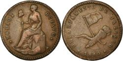 World Coins - Coin, Mexico, 1/16 Real, Medio Octavo, 1860, Guadalajara, , Copper