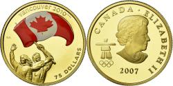 Ancient Coins - Coin, Canada, Elizabeth II, 75 Dollars, 2007, Royal Canadian Mint, Proof