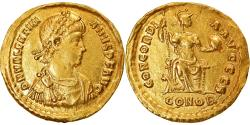 Ancient Coins - Coin, Valentinian II, Solidus, 388-392, Constantinople, Rare, , Gold