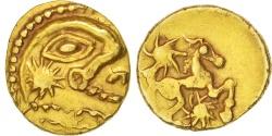 Bellovaci, 1/4 Stater, AU(50-53), Gold, Delestré:274