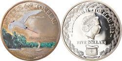 World Coins - Coin, Tokelau, Elizabeth II, Phaethon, 5 Dollars, 2012, Proof, , Silver