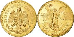 World Coins - Coin, Mexico, 50 Pesos, 1943, Mexico City, , Gold, KM:482