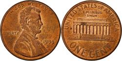 Us Coins - Coin, United States, Lincoln Cent, Cent, 1995, U.S. Mint, Denver,