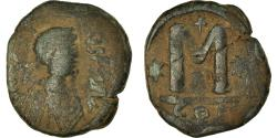 Ancient Coins - Coin, Justin I, Follis, 518-527, Constantinople, , Copper, Sear:62