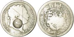 World Coins - Coin, Costa Rica, 2 Reales, 1816, Countermark, , Silver, KM:93