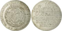 World Coins - Coin, German States, MECKLENBURG-SCHWERIN, Friedrich II, 16 Schilling, 1764