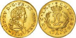 World Coins - Coin, France, Louis XV, Double louis d'or Mirliton, 1723, Paris, MS