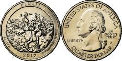 Us Coins - Coin, United States, Alaska, Quarter, 2012, U.S. Mint, Philadelphia,