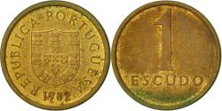 World Coins - Portugal, Escudo, 1982, , Nickel-brass, KM:614