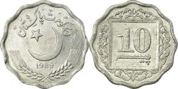 World Coins - Coin, Pakistan, 10 Paisa, 1989, , Aluminum, KM:53