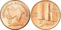 World Coins - Coin, Azerbaijan, 5 Qapik, Undated (2006), , Copper Plated Steel, KM:41