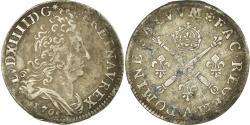 Ancient Coins - Coin, France, Louis XIV, 10 Sols aux insignes, 10 Sols-1/8 Ecu, 1705, Paris