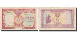 Ancient Coins - Banknote, FRENCH INDO-CHINA, 10 Piastres = 10 Riels, Undated (1953), KM:96a