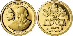 World Coins - Vatican, Medal, Le Pape François, 2013, , Gold