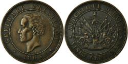 World Coins - Coin, Haiti, 20 Centimes, 1863, , Bronze, KM:41