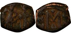 Ancient Coins - Coin, Heraclius, with Heraclius Constantine, Follis, 629-630, Uncertain Mint