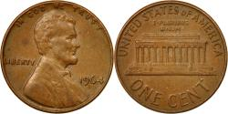 Us Coins - Coin, United States, Lincoln Cent, Cent, 1964, U.S. Mint, Denver,