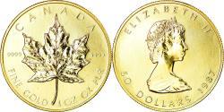 World Coins - Coin, Canada, Elizabeth II, 50 Dollars, 1987, Royal Canadian Mint, Ottawa