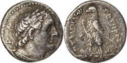 Ancient Coins - Coin, Egypt, Ptolemaic Kingdom, Ptolemy II Philadelphos, Tetradrachm, 285-246