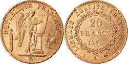 World Coins - Coin, France, Génie, 20 Francs, 1876, Paris, , Gold, KM:825